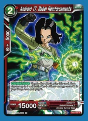 Android 17, Rebel Reinforcements (Reprint) - DB2-005 - R