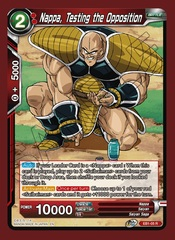 Nappa, Testing the Opposition - EB1-05 - R