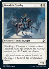 Benalish Cavalry - Foil