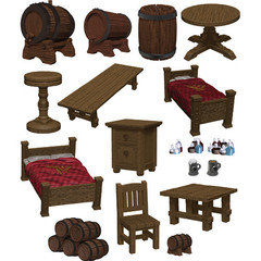 D&D Icons of the Realm: The Yawning Portal Inn - Beds & Bottles