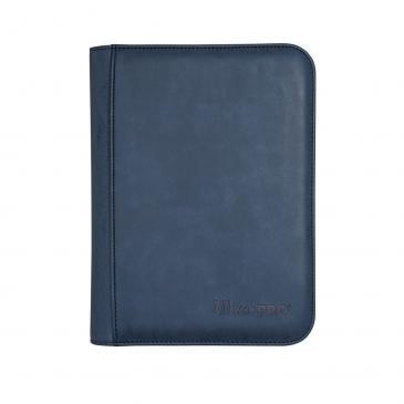 Ultra Pro - Zippered 4-Pocket Premium PRO-Binder - Suede Collection: Sapphire