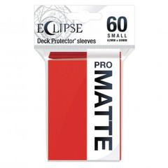 Ultra Pro: Eclipse PRO-Matte Small Deck Protector Sleeves 60ct - Apple Red