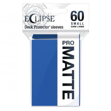 Ultra Pro: Eclipse PRO-Matte Small Deck Protector Sleeves 60ct - Pacific Blue