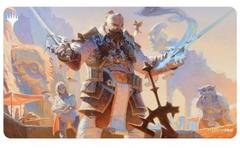 Ultra Pro MTG Strixhaven Commander Playmat - Lorehold - Osgir, The Reconstructor