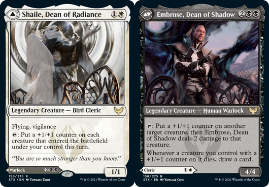 Shaile, Dean of Radiance // Embrose, Dean of Shadow