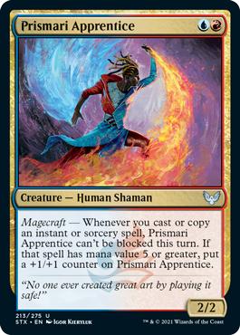 Prismari Apprentice - Foil