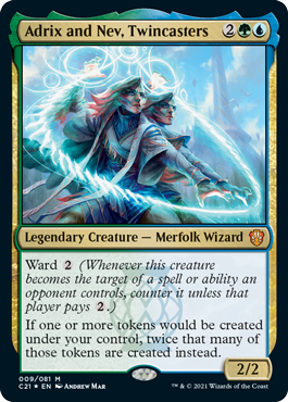 Adrix and Nev, Twincasters - Foil