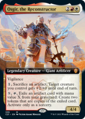 Osgir, the Reconstructor - Extended Art
