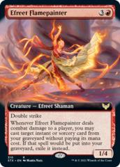Efreet Flamepainter - Foil - Extended Art