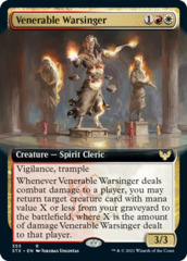 Venerable Warsinger - Extended Art