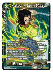 Android 17, Sibling Strike - BT13-109 - UC - Foil