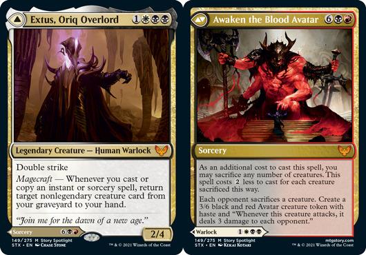 Extus, Oriq Overlord // Awaken the Blood Avatar