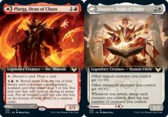 Plargg, Dean of Chaos // Augusta, Dean of Order - Foil - Extended Art