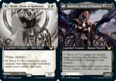 Shaile, Dean of Radiance // Embrose, Dean of Shadow - Extended Art