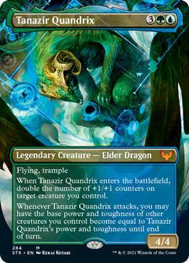 Tanazir Quandrix - Borderless - Foil