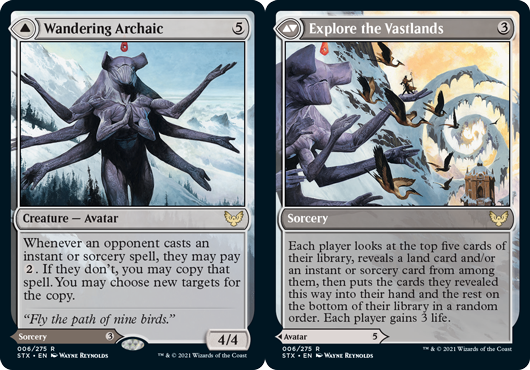 Wandering Archaic // Explore the Vastlands