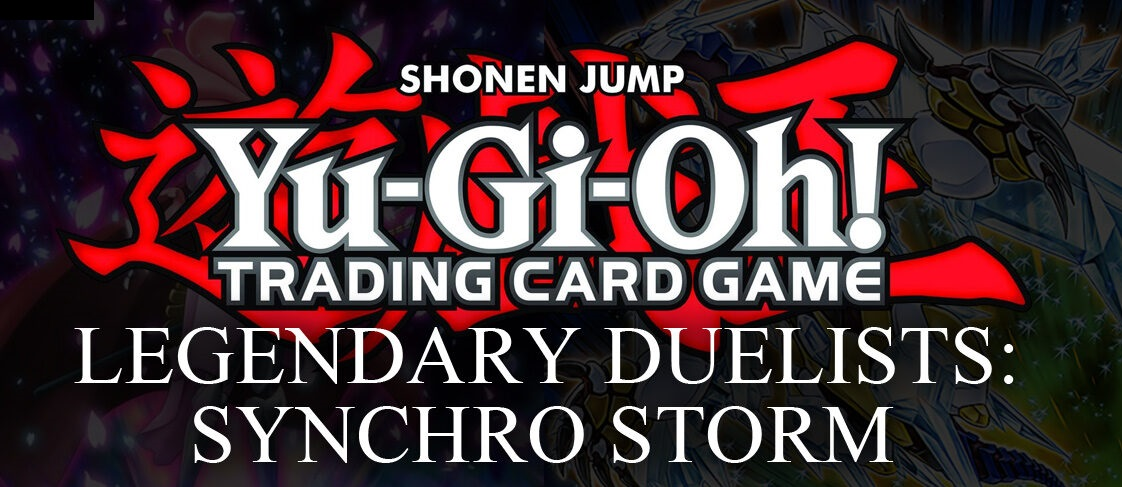 Legendary Duelists: Synchro Storm Booster Box (12 Display Box)