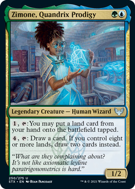 Zimone, Quandrix Prodigy