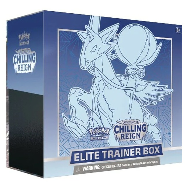 Sword & Shield: Chilling Reign Elite Trainer Box (Ice Rider Calyrex)