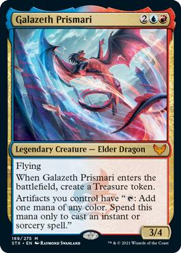 Galazeth Prismari - Foil