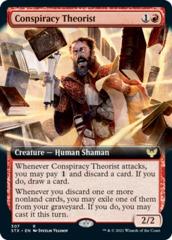 Conspiracy Theorist - Foil - Extended Art