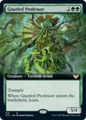 Gnarled Professor - Foil - Extended Art