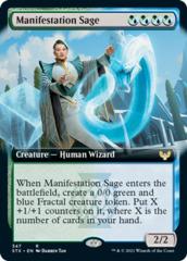 Manifestation Sage - Extended Art - Foil