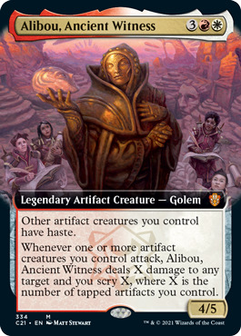 Alibou, Ancient Witness - Extended Art