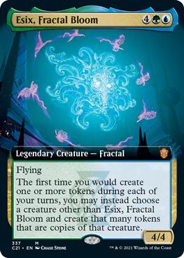 Esix, Fractal Bloom - Extended Art