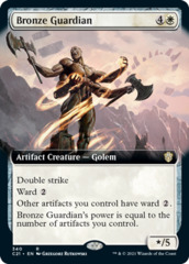 Bronze Guardian - Extended Art