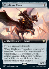 Triplicate Titan - Extended Art