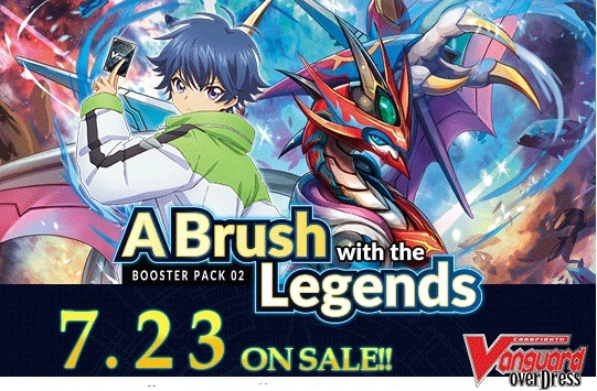 Cardfight!! Vanguard overDress: A Brush with the Legends Booster Pack