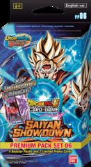 Dragon Ball Super - Saiyan Showdown Premium Pack Set 06