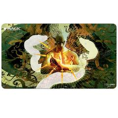 Ultra Pro - Strixhaven Playmat for Magic: The Gathering - Mystical Archive Snakeskin Veil