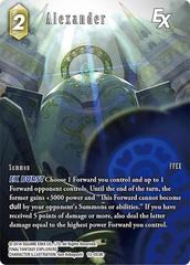 Alexander EX - 13-053R - Full Art - Foil