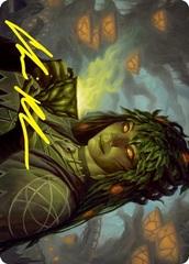 Dina, Soul Steeper Art Card - Gold-Stamped Signature
