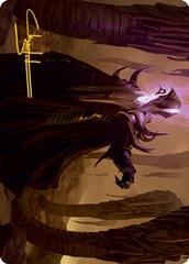 Extus, Oriq Overlord Art Card - Gold-Stamped Signature