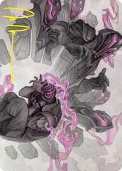Rise of Extus Art Card - Gold-Stamped Signature
