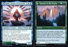 Jadzi, Oracle of Arcavios // Journey to the Oracle - Foil - Prerelease Promo