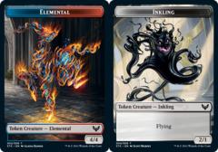Elemental Token // Inkling Token - Foil