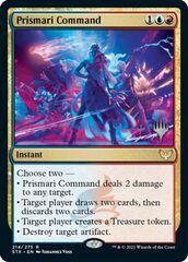 Prismari Command - Promo Pack