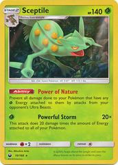 Sceptile - 10/168 - Cracked Ice Holo Theme Deck Exclusives