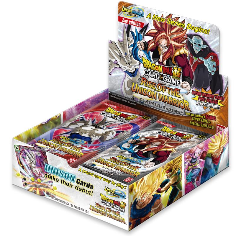Dragon Ball Super - Rise of the Unison Warrior Booster Box - 2nd Edition