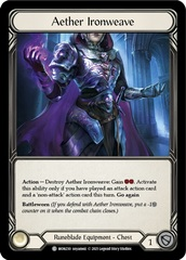 Aether Ironweave - 1st Edition