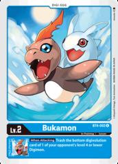 Bukamon - BT4-002 - U