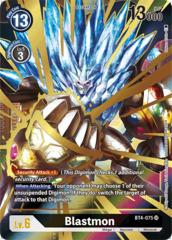 Blastmon - BT4-075 - SR - Alternative Art