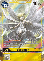Lucemon - BT4-115 - SEC - Alternative Art