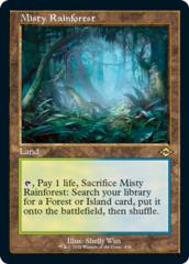 Misty Rainforest (Retro Frame)
