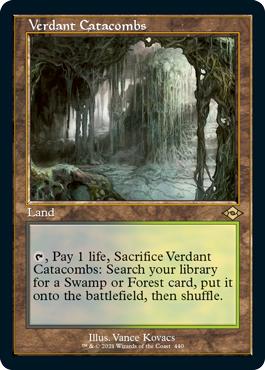 Verdant Catacombs - Retro Frame