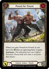 Pound for Pound (Yellow) - Rainbow Foil - 1st Edition